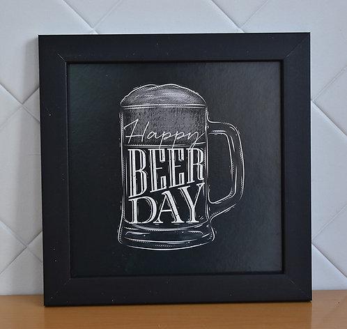 Quadro Decorativo Happy Beer Day