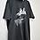 Thumbnail: Camiseta Masculina Cinza com Estampa Branca e Cinza
