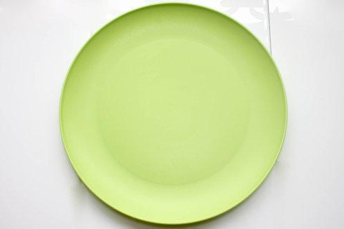 Prato Raso de Plástico Verde