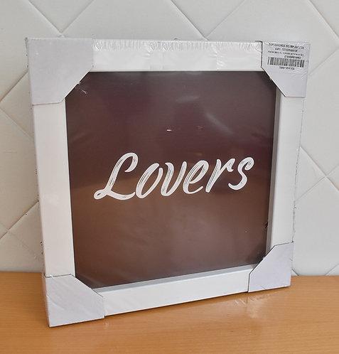 Quadro Decorativo Lovers
