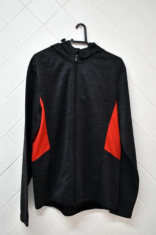 Blusa de Frio Masculina Cinza Chumbo com Capuz - Tamanho  XL