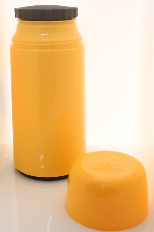 Garrafa Térmica de Mesa Amarela - Mini 250 ml