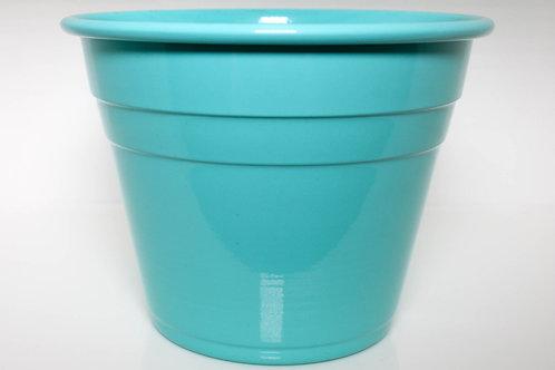 Vaso de Alumínio Verde Água