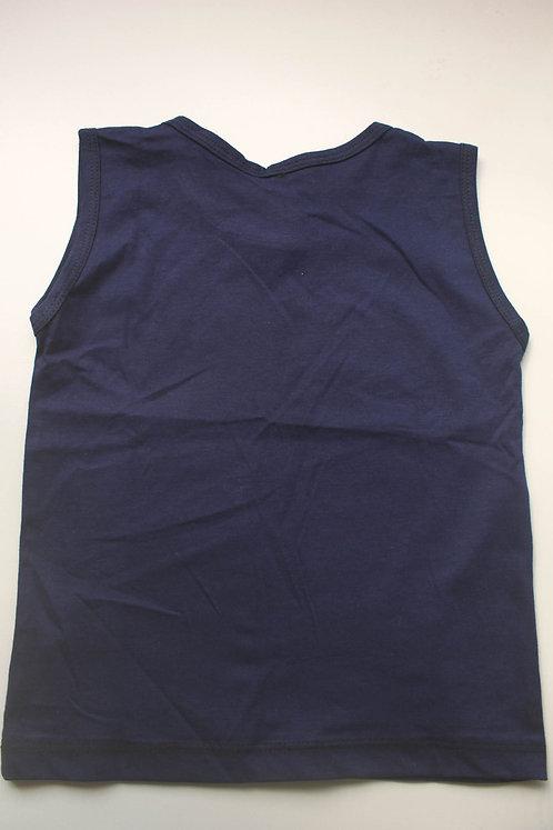 Camiseta Regata Azul Marinho London Tam 3 Anos