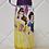 Thumbnail: Garrafa Squeeze Plástico com Porta Gelo Princesa Disney Tampa Roxa