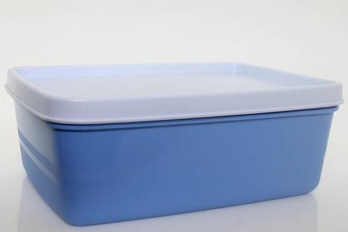 Pote Azul Tampa Branca 460 ml