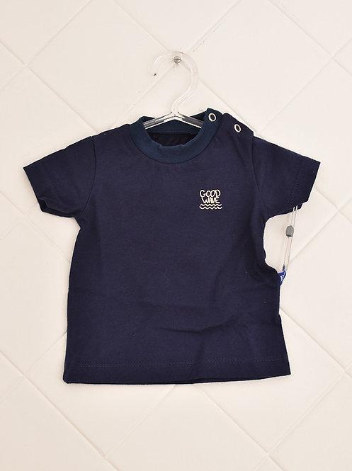 Camiseta Infantil Azul Marinho  - Good Wave