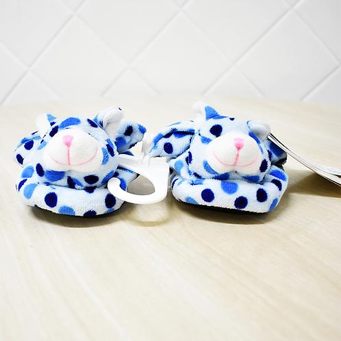 Pantufa Gato Azul