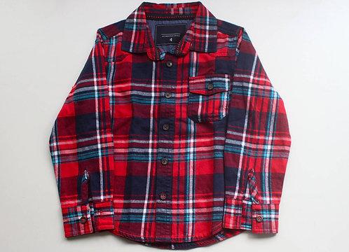 Camisa Xadrez  Tamanho 4 Anos