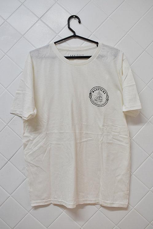 Camiseta Masculina Creme Nautical