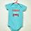 Thumbnail: Body Bebê Verde - Cuidado Papai Ciumento