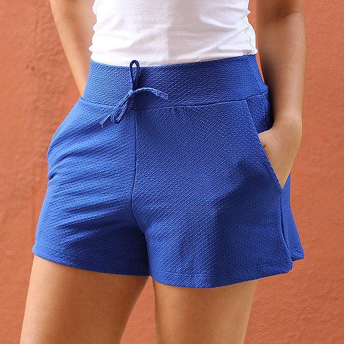 Short Feminino Azul