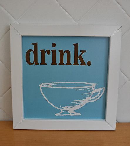 Quadro Decorativo Drink