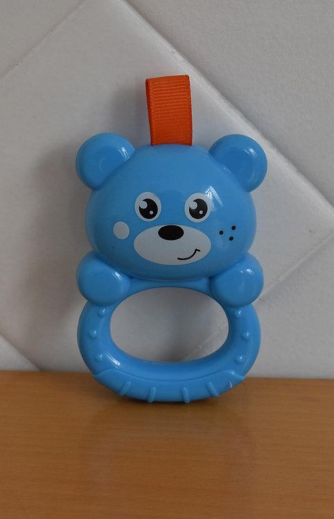 Chocalho Urso Azul
