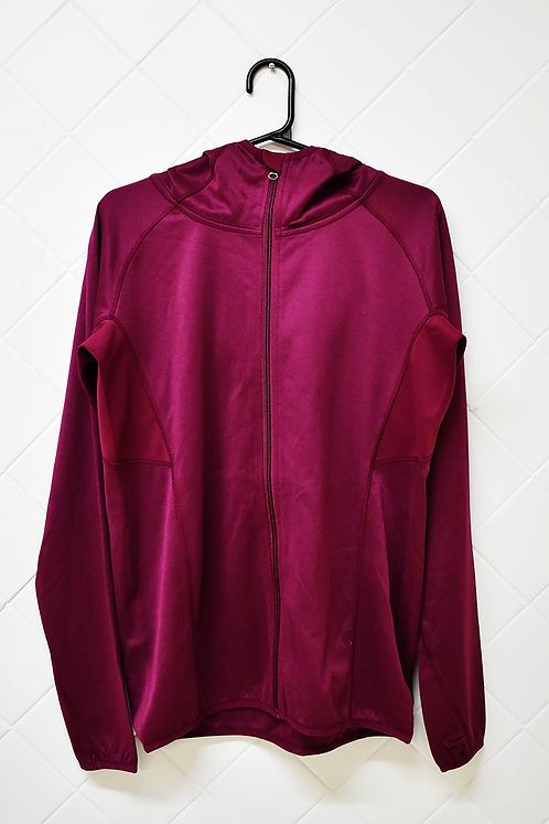 Blusa de Frio Feminina com Capuz Vinho