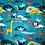 Thumbnail: Manta Microfibra Solteiro Animais kids