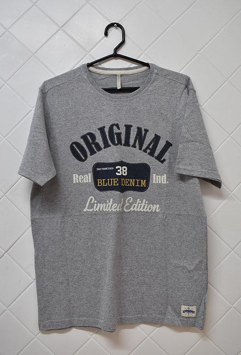 Camiseta Masculina Cinza Original