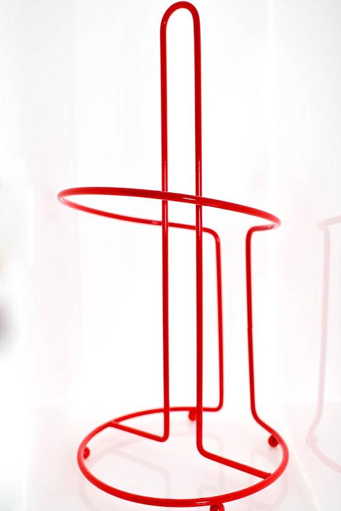 Porta Papel Toalha  Vermelho