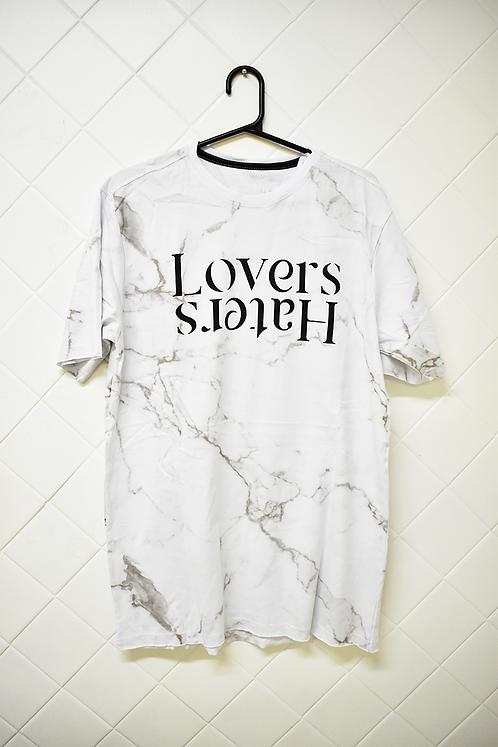 Camiseta Masculina Branca Lovers Haters