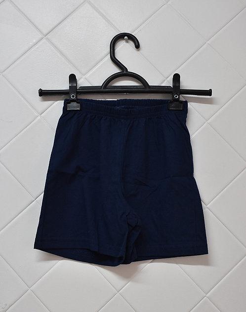 Shorts Infanto Juvenil Azul Marinho - Tam 2 Anos