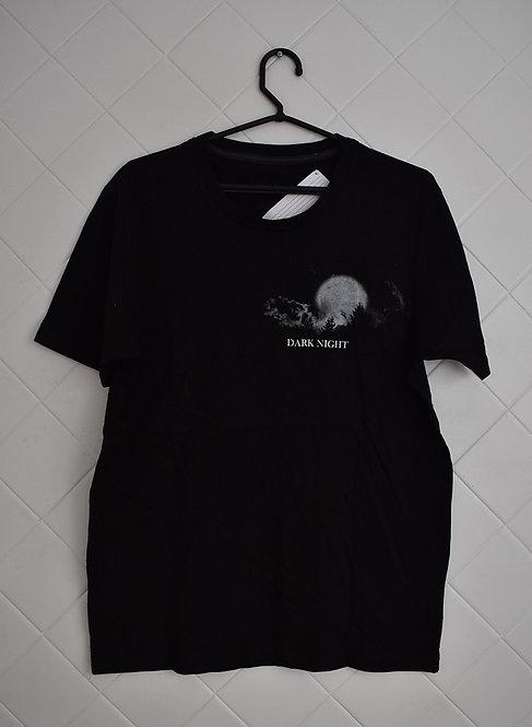 Camiseta Masculina Preta Dark Night