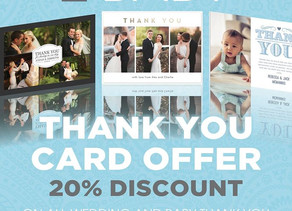Wedding and Baby Thank you card offer!!!