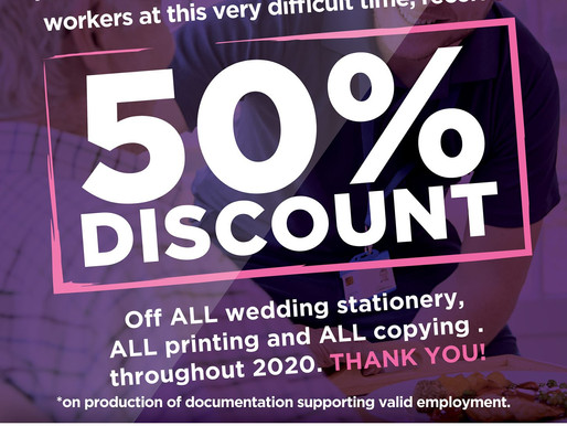 Care Workers 50% Discount!