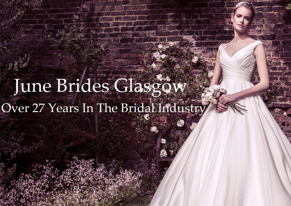 June Brides Glasgow- Bridal Gowns- Scotland