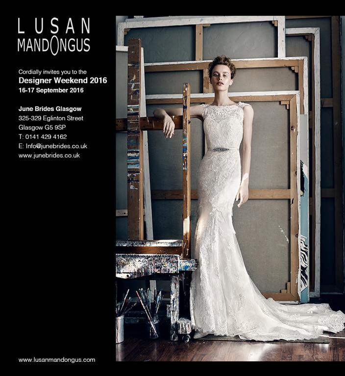 Lusan Mandongus Designer Weekend