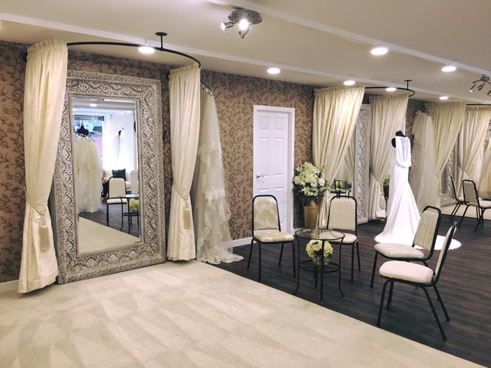 Our new Bridal Boutique is complete!!