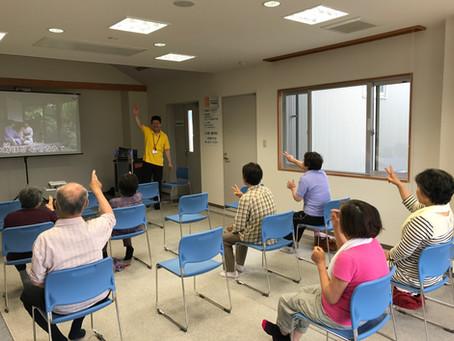 5/25カラオケ健康体操開催!