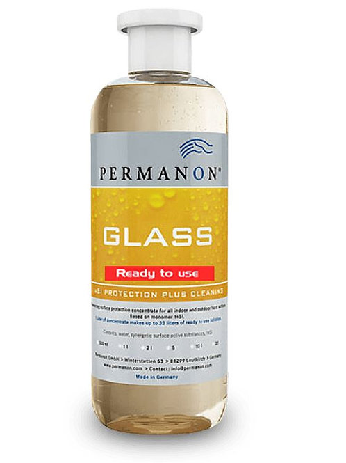 Permanon GLASS ready to use 500ml bis zu 100m2