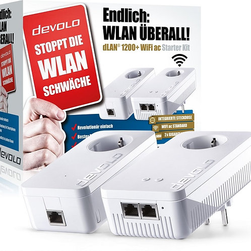 dLAN® 1200+ WiFi ac Starter Kit
