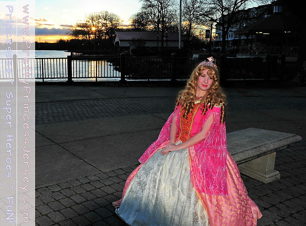 Sleeping Beauty themed princess appearance