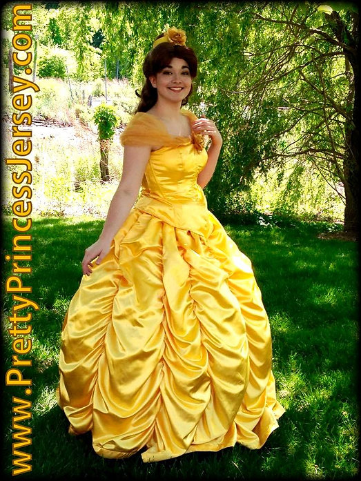Beauty and the Beast fans will love PrettyPrincessJersey's Enchanted Rose Princess. Invite her to your next social gathering!