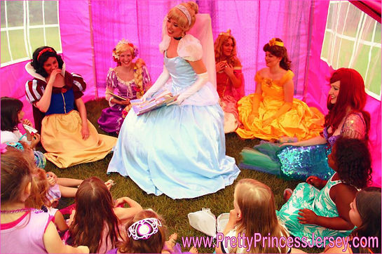 With PrettyPrincessJersey, you can invite the character of your choice to your upcoming celebration.