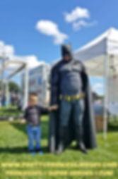 Bat Hero, Superhero, Hire a hero