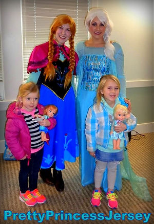 PrettyPrincessJersey offers many popular characters!