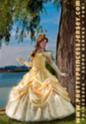 Belle, Beauty and the Beast, Princess Belle, Princess Beauty, Princess Party Philadelphia, Bucks Couty Princess Party