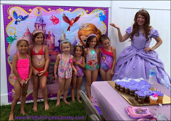Fans of Sofia The First love PrettyPrincessJersey's First Princess character. To schedule an appearance, email us at PrettyPrincessJersey@gmail.com