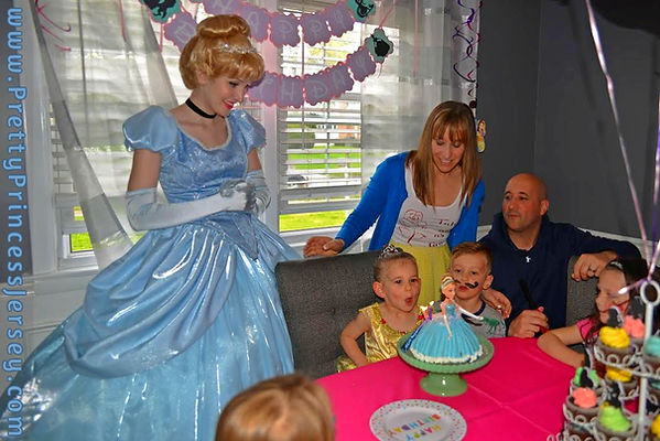 Princess Birthday Party, Cinderella Party, Birthday Princess Philadelphia, Character Party Bucks County, South Jersey Princess Appearance