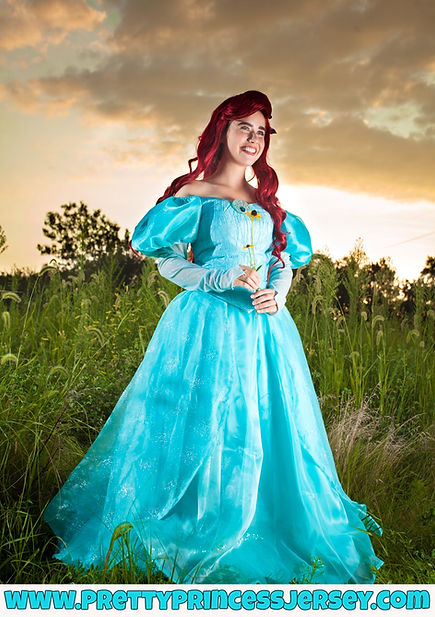 The Little Mermaid, Ariel, Princess Party, Princess Performer, Singign Princess, Princess for Hire, Rent a Princess