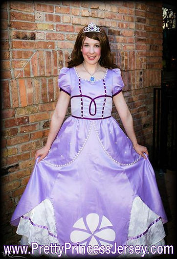 Sofia, Sofia The First, Princes Party Philadelphia, Princess Buck County, Priness South Jersey, Character for Hire, Party Entertainer