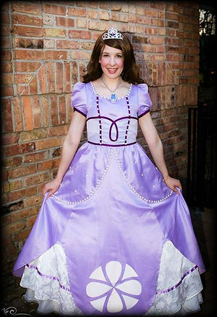 PrettyPrincessJersey offers characters based on classic fairy tales, animated classics, popular shows and movies, as well as comic books. If given enough notice, we can also take special requests!