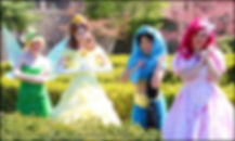 Tinkerbelle, Belle, Beauty, Jasmine, Ariel, Little Mermaid, Character Appearance, Party Princess, Character for Hire, Rent a Character, Party Character, Bucks County, Philadelphia, South Jersey