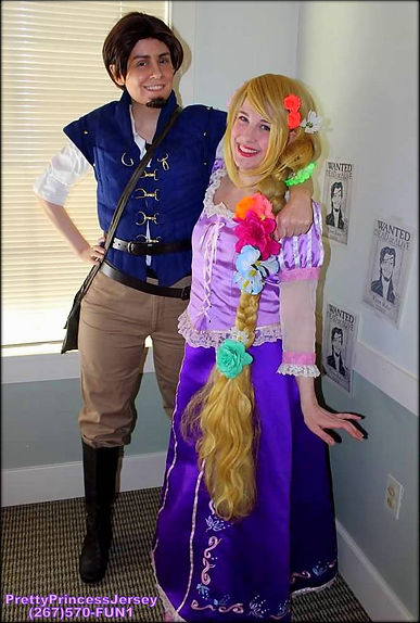 Our characters resemble those found within classic fairy tales, such as Rapunzel. If you have a specific story/character in mind, please just let us know... We can likely help!