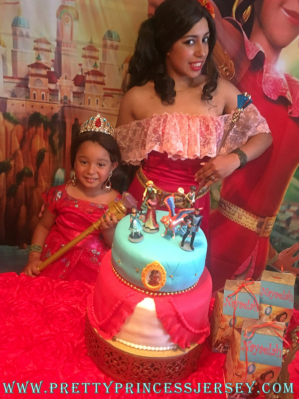 Elena of Avalor Birthday Party Character Impersonator