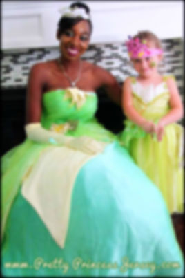 The Frog Princess, Tiana, Princess Party, Princess for hire, character for hire, chracter party