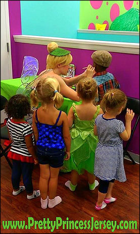 PrettyPrincessJersey offers characters who can face paint at birthday parties and other events! Contact us at PrettyPrincessJersey@gmail.com to schedule a face painter.