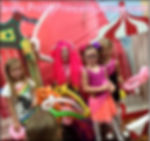 PrettyPrincessJersey offers friendly clowns who can face paint and/or do simple balloon twisting. Lala Loopsy fans love our happy clown entertainers!